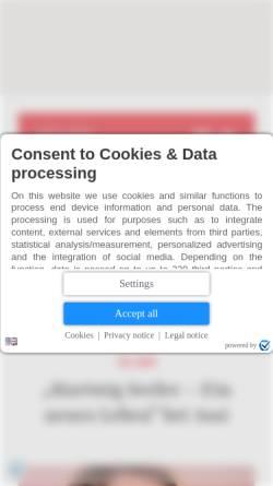 Vorschau der mobilen Webseite www.kulturnews.de, Kulturnews