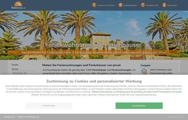 Vorschau von www.ferienhaus-urlaube.de, Ferienhaus-Urlaube.de [Alexander Drechsel ]