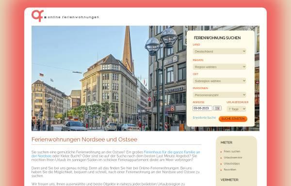 Vorschau von www.online-ferienwohnungen.de, Online-Ferienwohnungen.de [Stasch Systemlösungen]