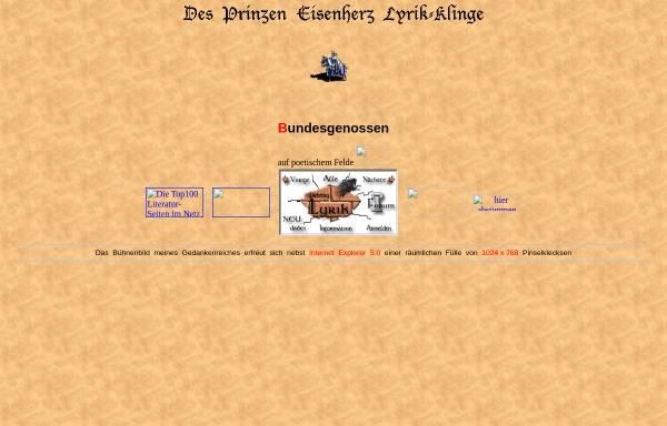 Vorschau von home.wtal.de, Prinz Eisenherz
