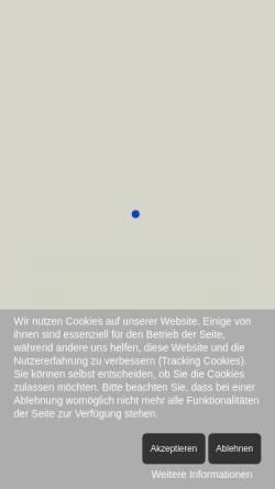 Vorschau der mobilen Webseite www.eifelverein-roetgen.de, Eifelverein, Ortsgruppe Roetgen