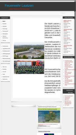 Vorschau der mobilen Webseite www.fw-laatzen.de, Freiwillige Feuerwehr Laatzen