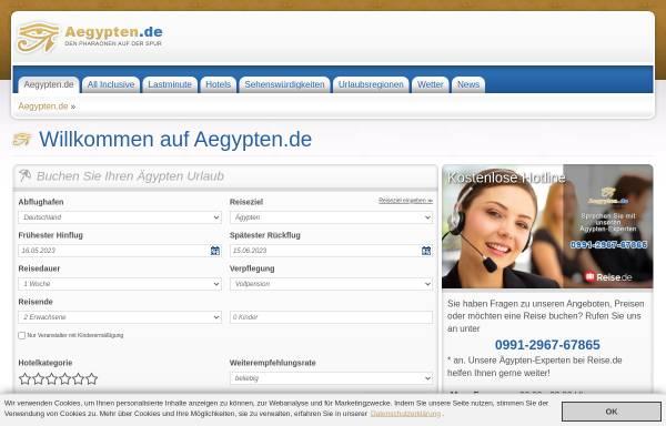 Vorschau von www.aegypten.de, Go 4 Sun