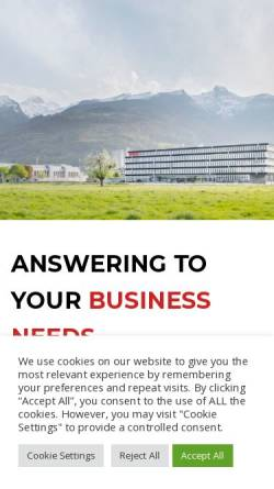 Vorschau der mobilen Webseite www.brusa.eu, Brusa Elektronik AG