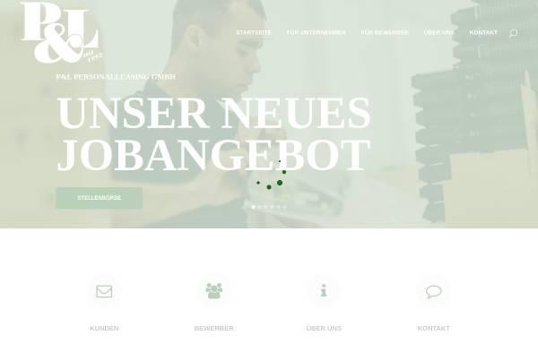 Vorschau von pl-eschweiler.de, P&L Personalleasing GmbH