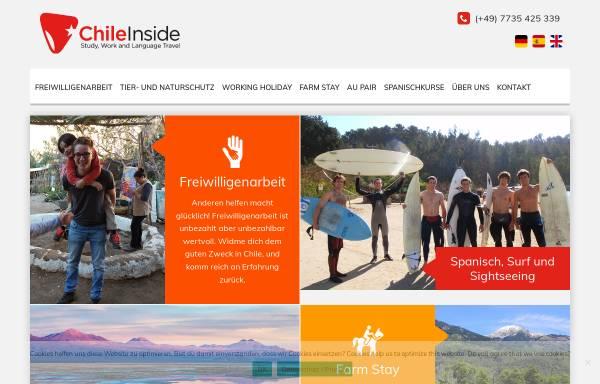 Vorschau von www.chileinside.cl, Chile Inside