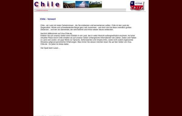 Vorschau von www.viva-chile.de, Viva Chile