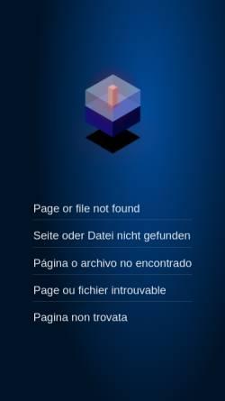 Vorschau der mobilen Webseite www.weltzeituhr.com, Weltzeituhr: Chile