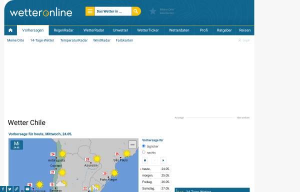 Vorschau von www.wetteronline.de, WetterOnline