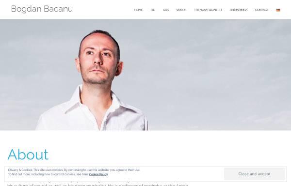 Vorschau von www.bogdanbacanu.com, Bácanu, Bogdan