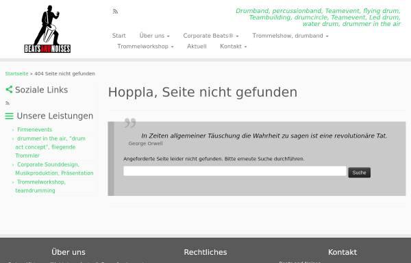 Vorschau von www.beatsandnoises.de, Beats and Noises