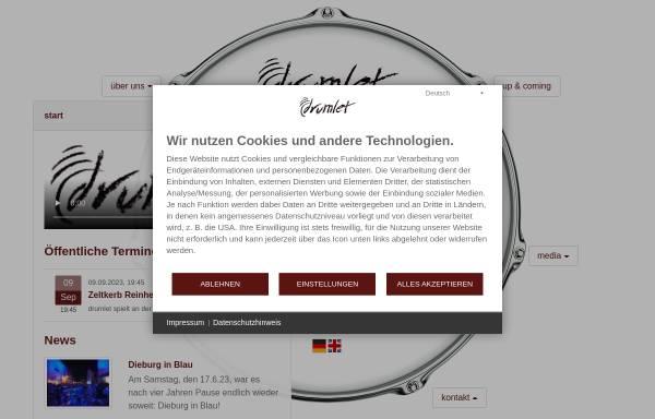 Vorschau von www.drumlet.de, Drumlet