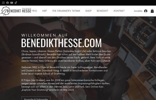 Vorschau von www.benedikthesse.com, Hesse, Benedikt