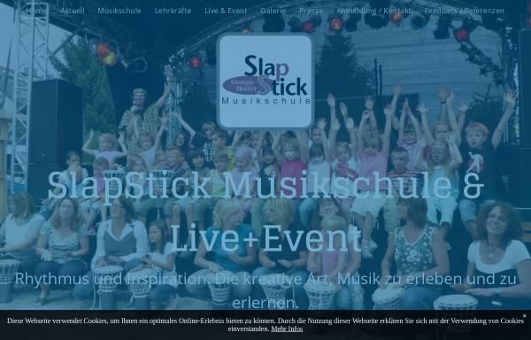 Vorschau von www.slap-stick.de, Hocker, Michael Georgie