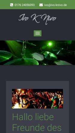 Vorschau der mobilen Webseite ivo-knivo.de, K'Nivo, Ivo