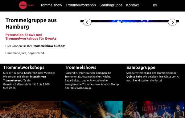 Vorschau von lazaremusic.de, Lazaremusic