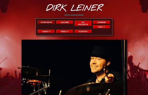 Vorschau von www.drummer-dirk-leiner.de, Leiner, Dirk