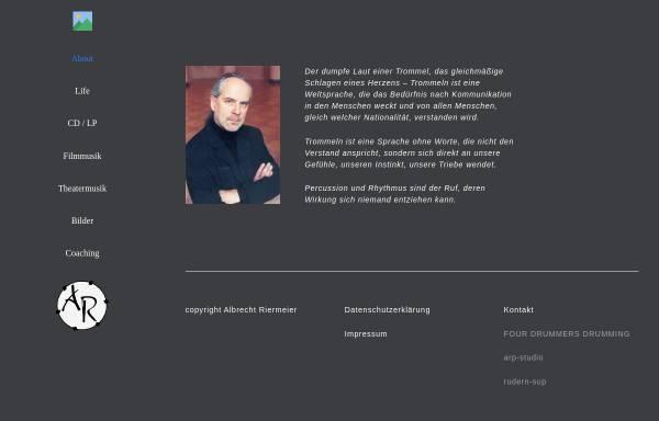 Vorschau von albrecht-riermeier.de, Riermeier, Albrecht