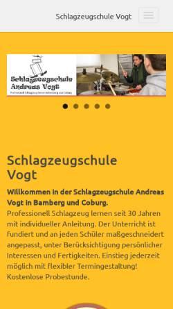 Vorschau der mobilen Webseite www.andreas-vogt.de, Vogt, Andreas