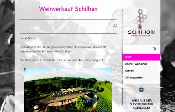 Vorschau von www.weingut-schilhan.at, Weingut Schilhan