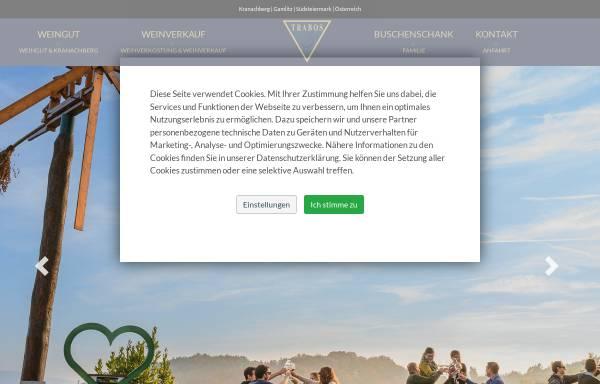Vorschau von www.trabos.at, Weingut Trabos