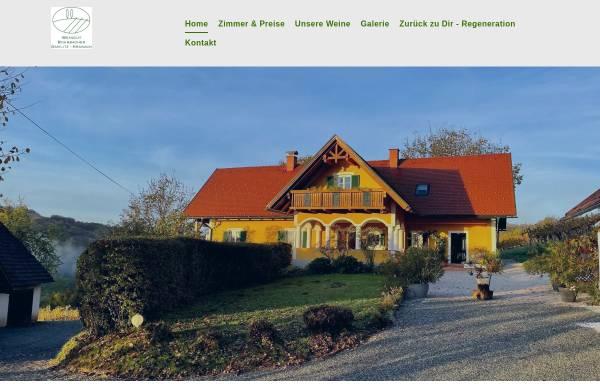 Vorschau von www.weingut-rohrbacher.at, Weingut und Ferienhaus Sonja Rohrbacher
