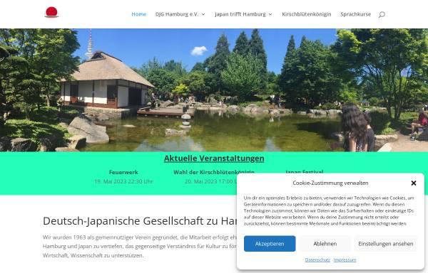 Vorschau von www.djg-hamburg.de, DJG Hamburg