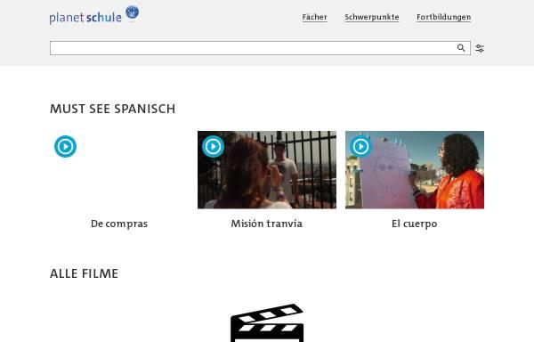 Vorschau von www.planet-schule.de, SWR Schulfernsehen: Spanisch