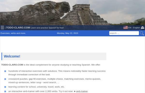 Vorschau von www.todo-claro.com, Todo-Claro.com - Thomas Schmidt