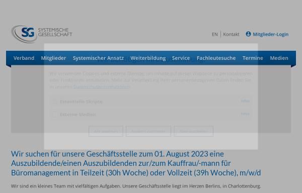Vorschau von www.systemische-gesellschaft.de, Systemische Gesellschaft