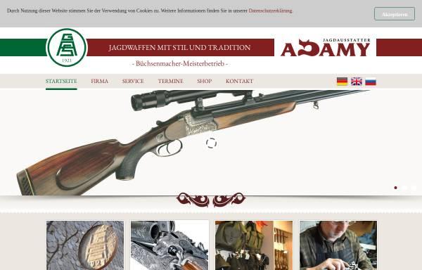 Vorschau von www.adamy-jagdwaffen.de, Gebr. Adamy