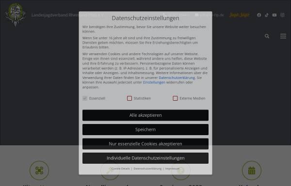 Vorschau von www.ljv-rlp.de, Landesjagdverband Rheinland-Pfalz