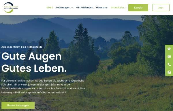 Vorschau von www.augenklinik-bad-rothenfelde.de, Augenklinik Bad Rothenfelde