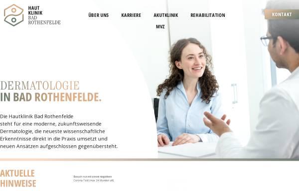 Vorschau von www.hautklinik.de, Johann-Wilhelm-Ritter-Klinik