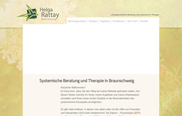 Vorschau von www.rattay-beratung.de, Diplom-Psychologin Helga Rattay