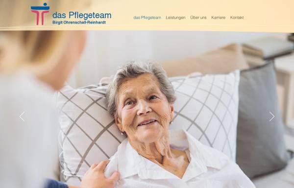 Vorschau von www.pflegeteam-uelzen.de, Das Pflegeteam - Birgit Ohrenschall und Reinhardt
