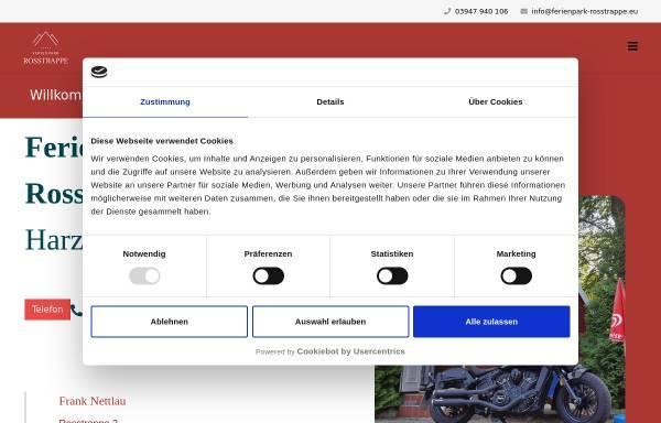 Vorschau von www.ferienpark-rosstrappe.de, Ferienpark Rosstrappe