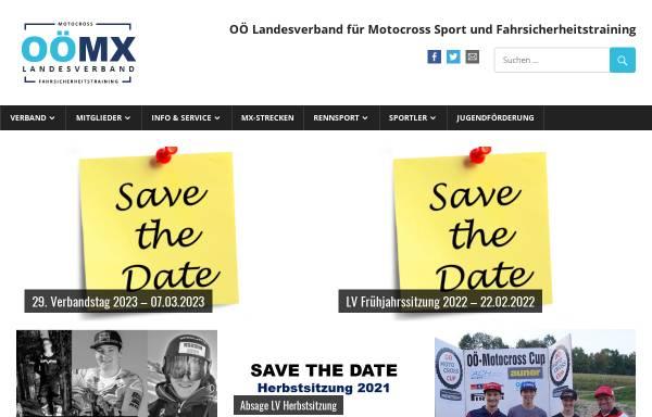 Vorschau von www.ooelvmotocross.at, Oberösterreichischer Landesverband für Moto Cross Sport und Fahrsicherheitstraining
