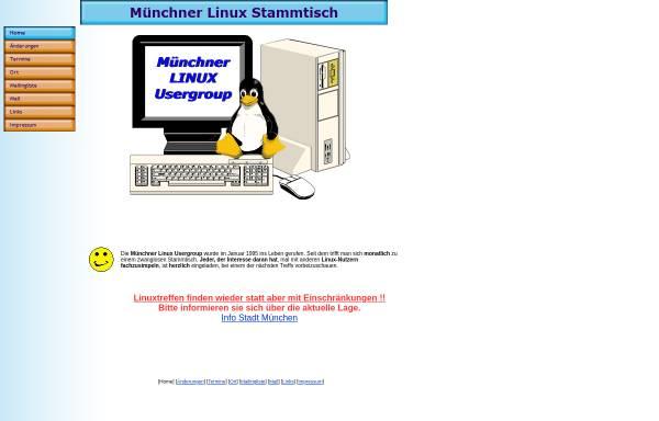 Vorschau von www.muc-lug.de, Münchner Linux Stammtisch