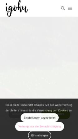 Vorschau der mobilen Webseite igoku.at, Metzler Stefan