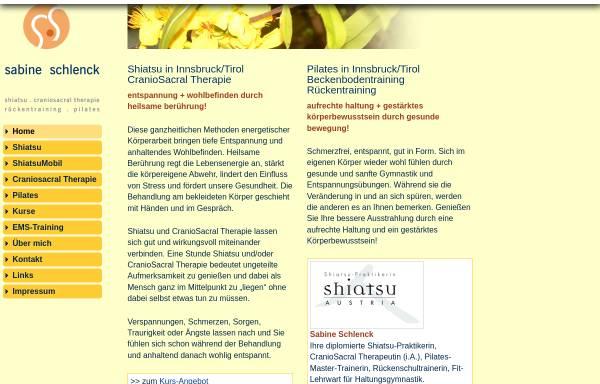 Vorschau von www.shiatsu-praxis.com, Schlenck Sabine