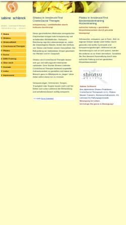 Vorschau der mobilen Webseite www.shiatsu-praxis.com, Schlenck Sabine