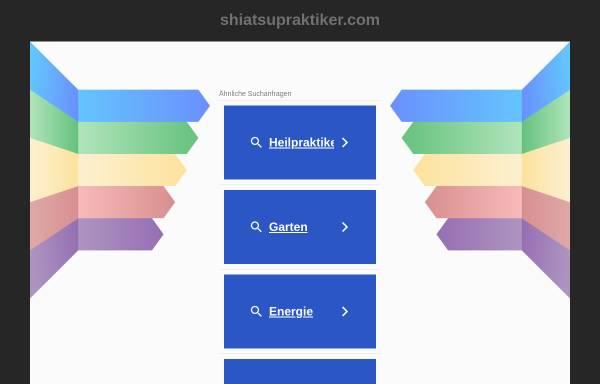 Vorschau von www.shiatsupraktiker.com, Shiatsu-Praktiker in Kärnten
