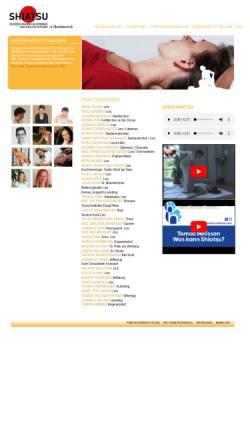 Vorschau der mobilen Webseite www.shiatsu-ooe.at, Shiatsu-PraktikerInnen in Oberösterreich