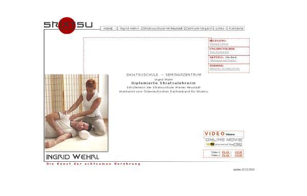 Vorschau von www.shiatsu-ingrid.at, Wehrl Ingrid