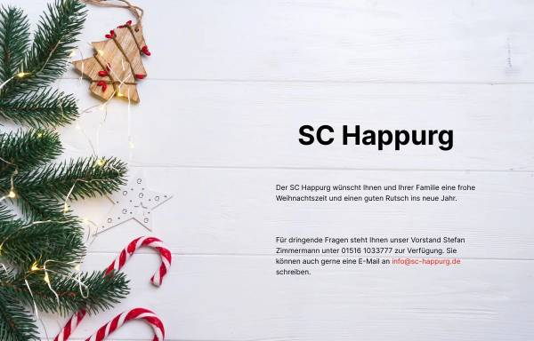 Vorschau von www.sc-happurg.de, Sportverein SC Happurg