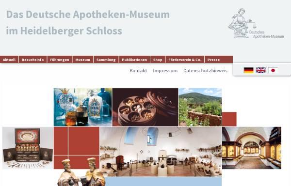 Vorschau von www.deutsches-apotheken-museum.de, Deutsches Apotheken-Museum