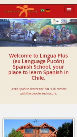 Vorschau der mobilen Webseite www.languagepucon.com, Language Pucon