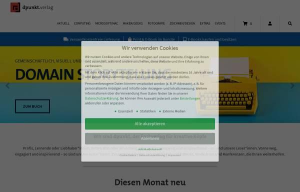 Vorschau von www.dpunkt.de, dpunkt.Verlag GmbH