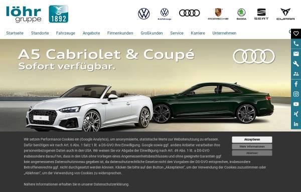 Vorschau von www.loehrgruppe.de, Löhr und Becker AG